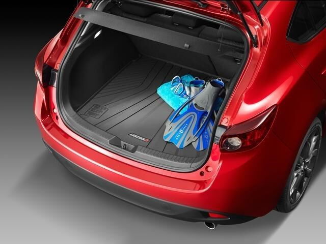 2014 2016 mazda3 5 door hatchback genuine cargo tray oem 0000 8s l04 ebay. Black Bedroom Furniture Sets. Home Design Ideas