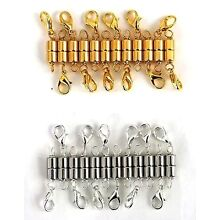 Very Strong Magnetic Clasp Necklace Converter Extender Handmade USA Gold Silver