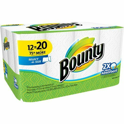 [Amazon Canada] Bounty Paper Towels 12 Giant Rolls - $11.81 with subsave