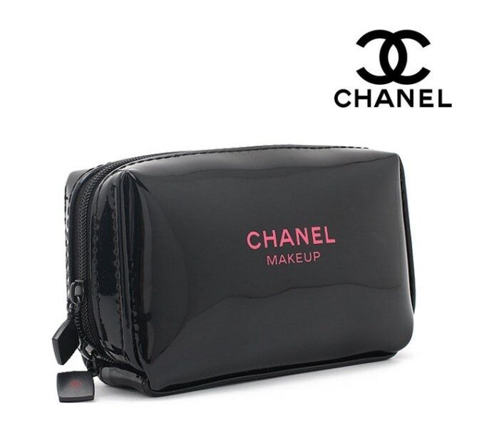 Chanel Beauty Maquillage Makeup Trousse Bag Pouch Ideal