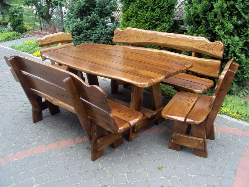 Handmade Wooden Garden Furniture EBay