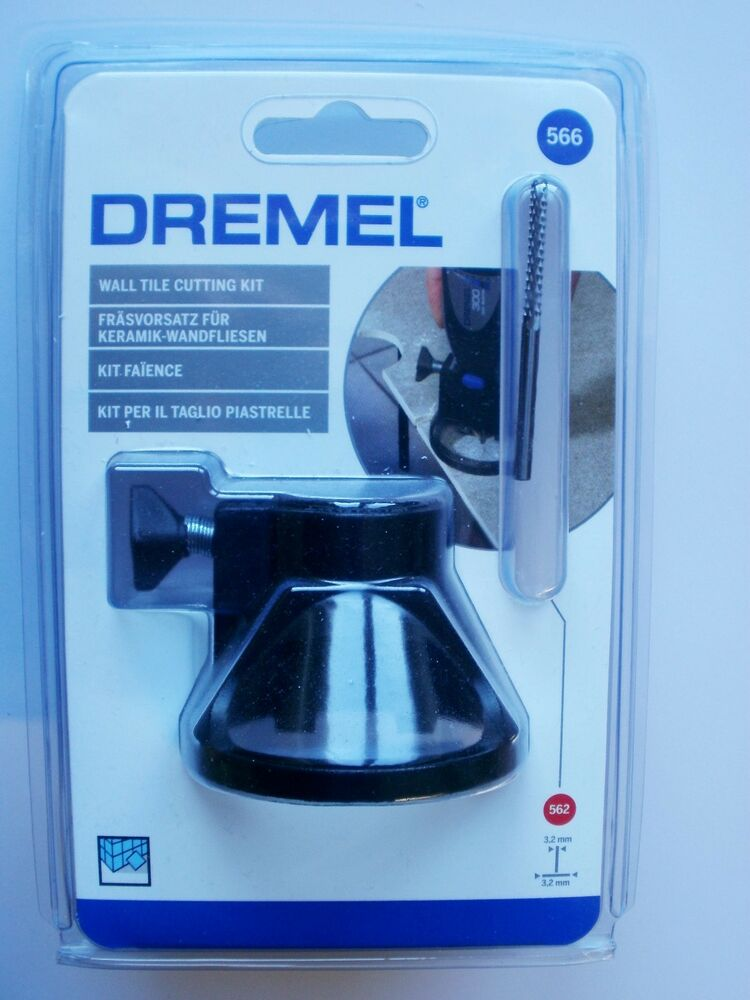 Dremel 566 Wall Tile Cutting Kit With Tile Cutting Bit 562