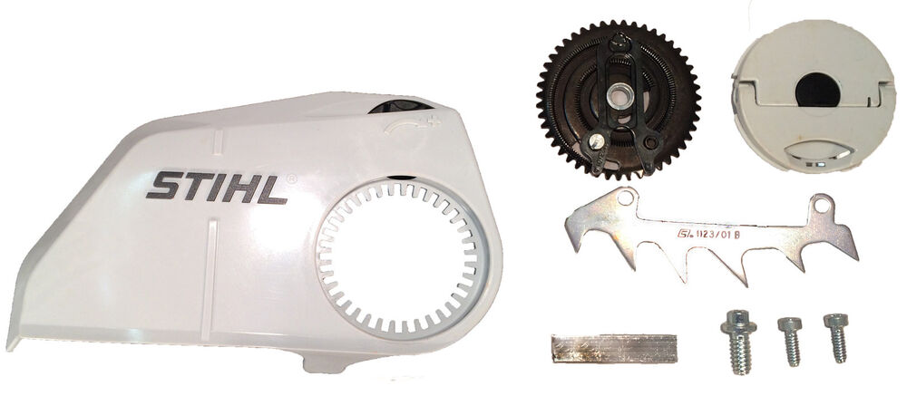 genuine stihl ms180 sprocket cover tooless    chain
