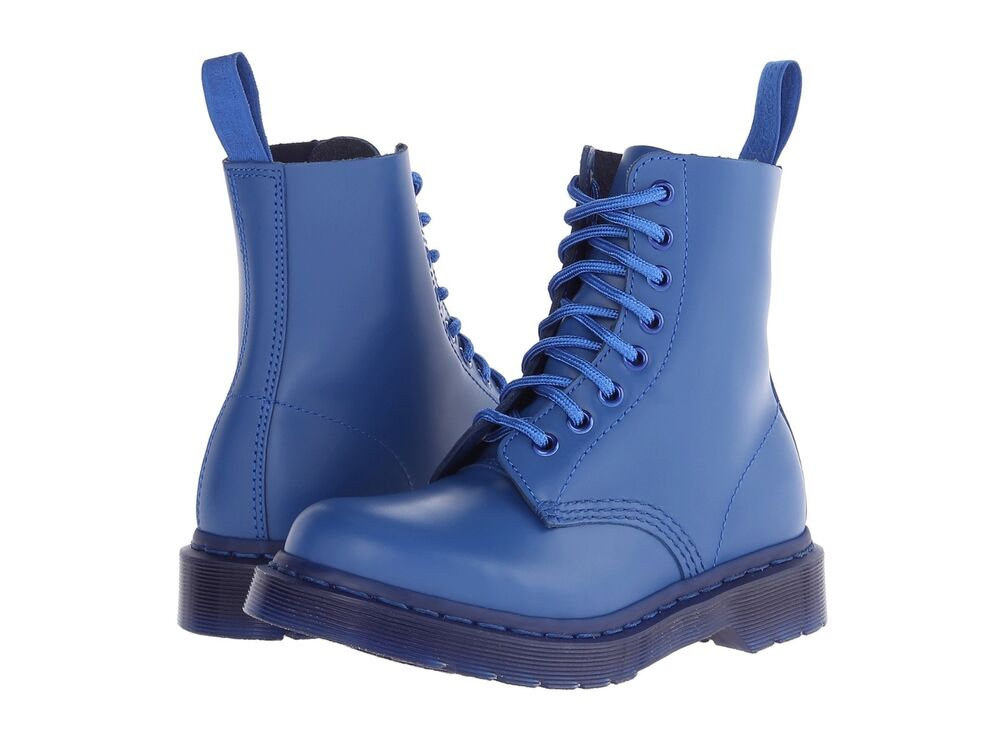 Dr. Martens Women's 1460 Pascal Blue Vintage Smooth Mono