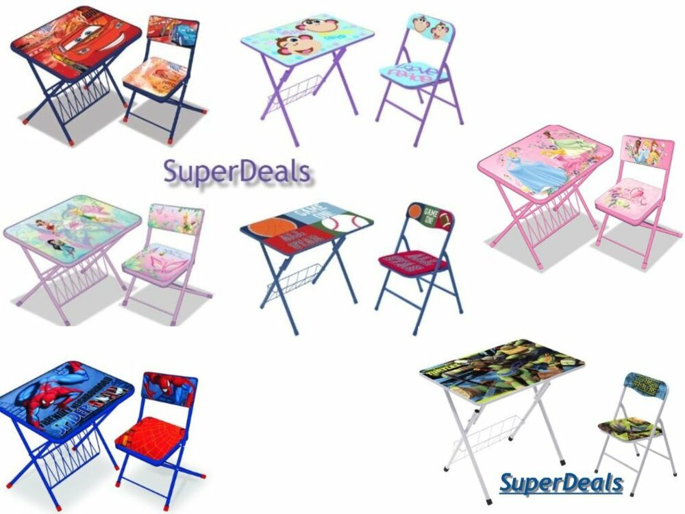 Disney Kids Activity Desk And Chair Set Children S