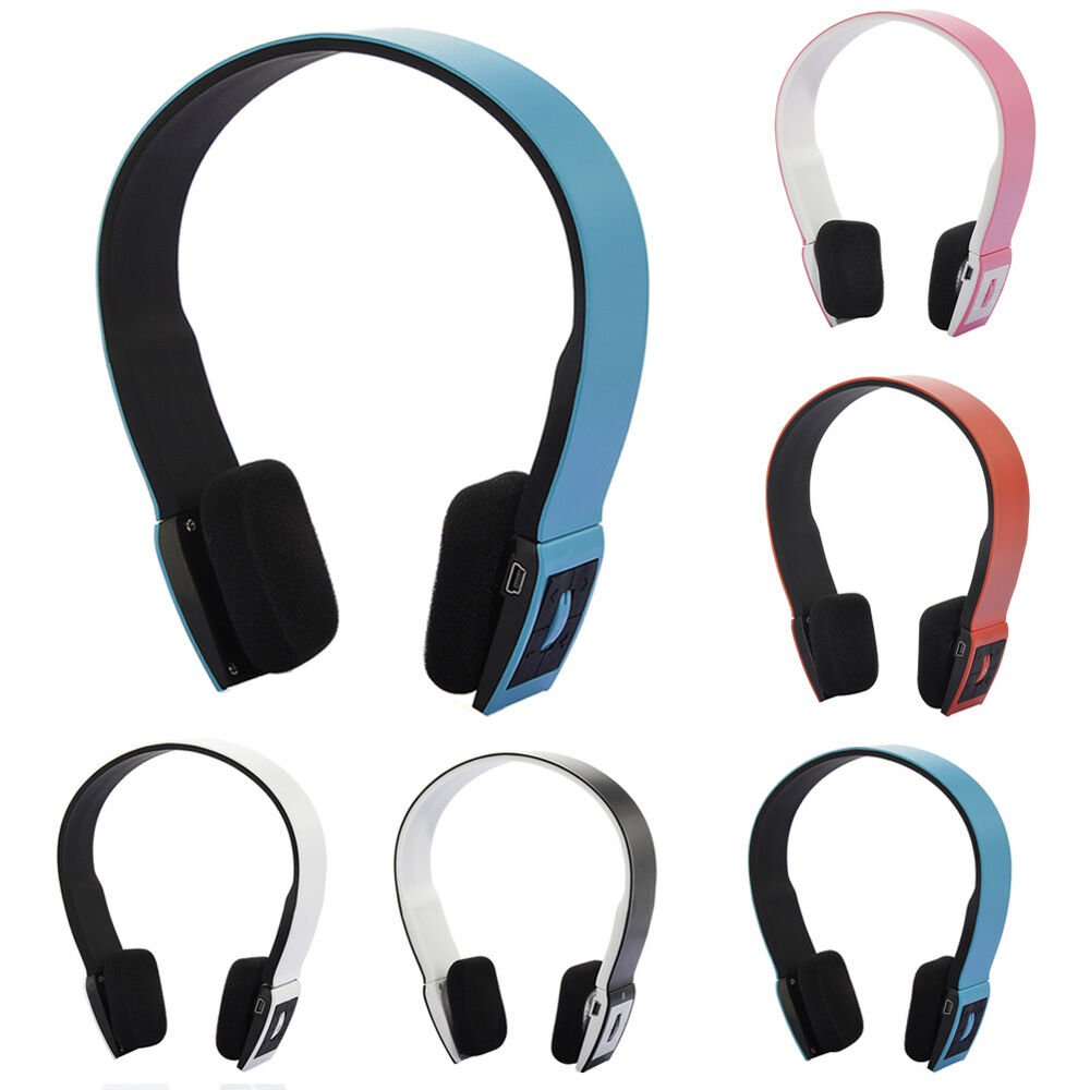 wireless bluetooth sports stereo headset headphone mic for. Black Bedroom Furniture Sets. Home Design Ideas