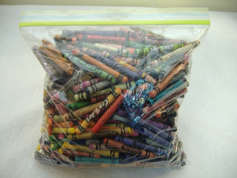Bulk lot over 4 lbs broken crayons melt down craft crafts for Crafts that sell on ebay