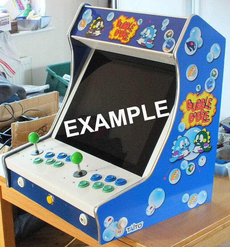 BULK -10 kits -Table or Bartop Arcade Cabinet - Machine Cut - High ...