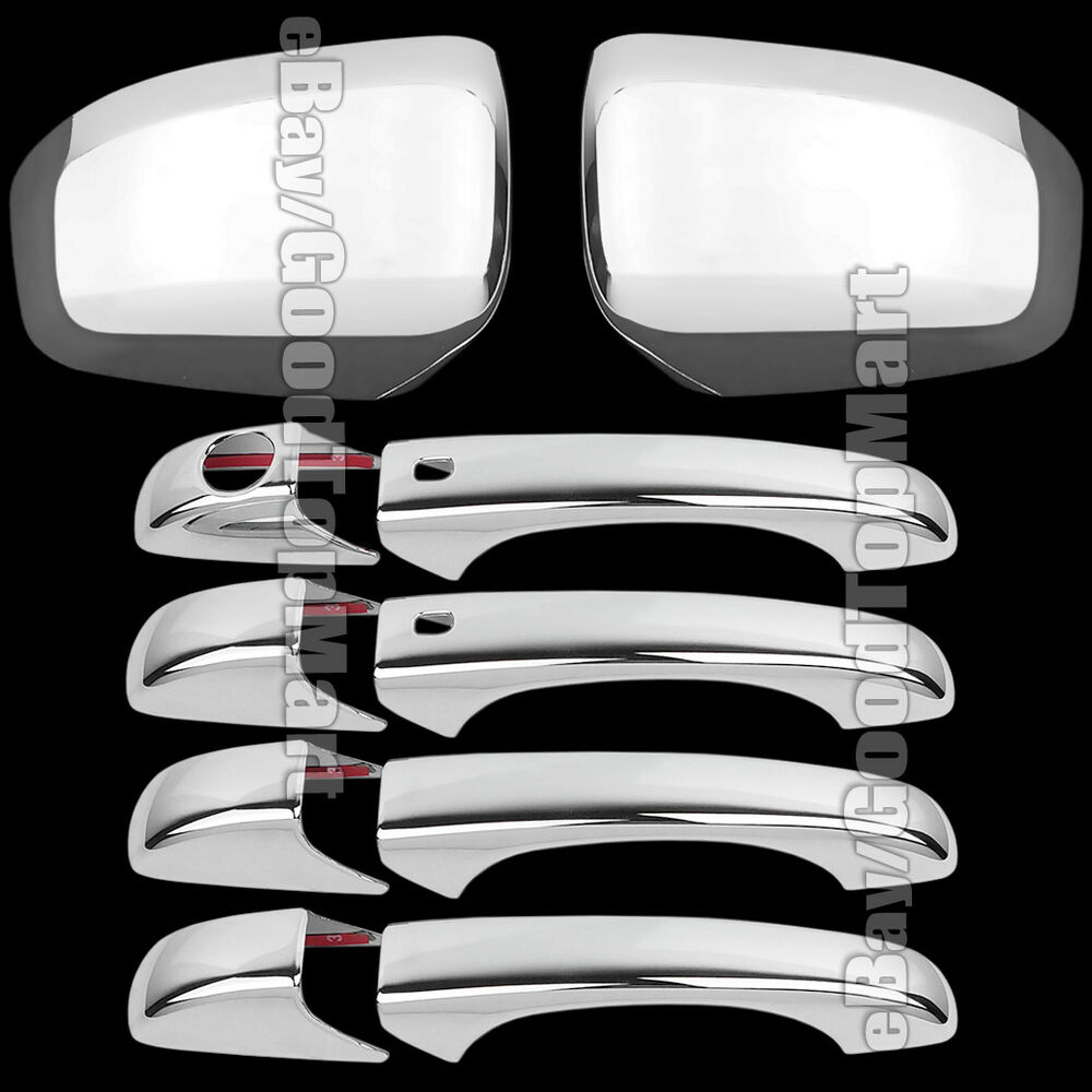 For Dodge DURANGO 2011 2012 2013 2014 Chrome Covers Combo