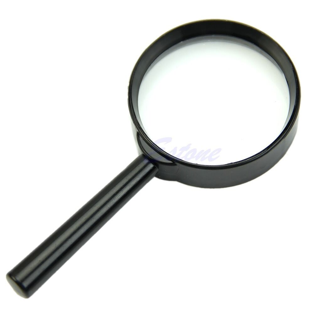 5x 50mm held reading magnifier magnifying glass lens
