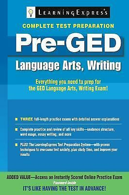 ged language arts writing A four-books series to help students with the language and writing skills needed to develop constructed responses on the ged® test also available in spanish check out our video series.