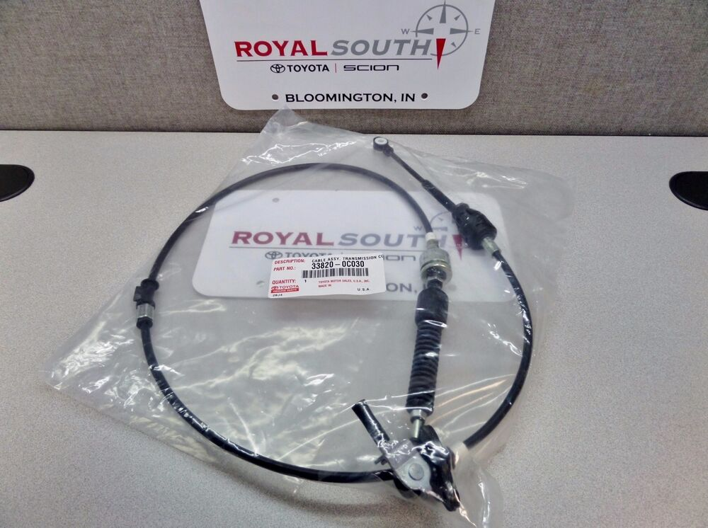 Toyota Tundra Sequoia Automatic Shifter Select Cable Genuine Oem Oe