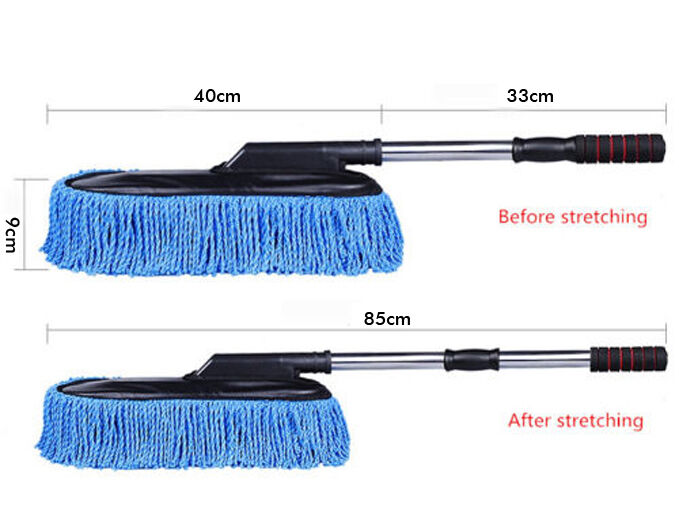1pc car cleaning wash brush dusting tool large microfiber telescoping duster ebay. Black Bedroom Furniture Sets. Home Design Ideas