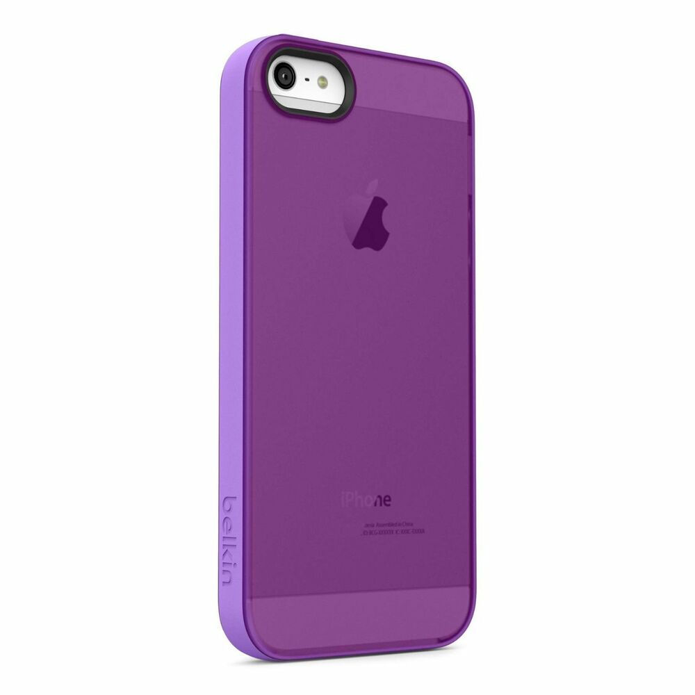 sell my iphone 5s new genuine belkin grip sheer for iphone 5 5s 16096