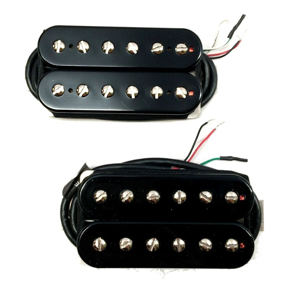 bare knuckle juggernaut misha mansoor alnico ceramic humbucker pickups black set ebay. Black Bedroom Furniture Sets. Home Design Ideas