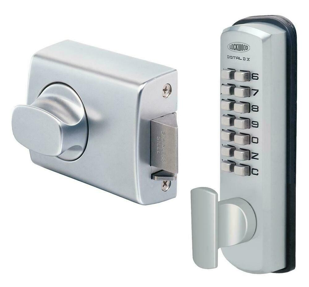 Lockwood Digital Door Lock 002 1kdxscdp Keyless Dx
