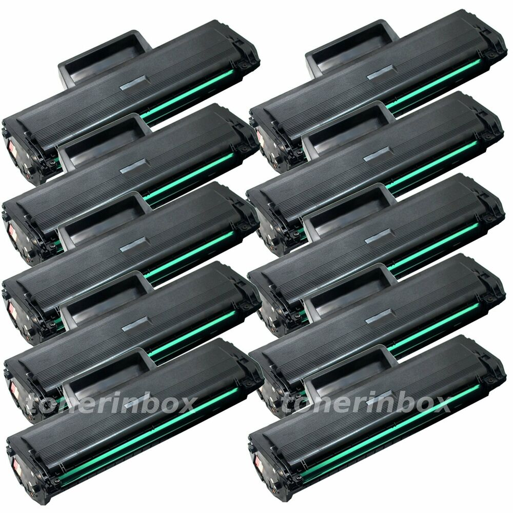 10pk mlt d111s mltd111s toner cartridge for samsung 111s xpress m2020w m2070fw ebay. Black Bedroom Furniture Sets. Home Design Ideas