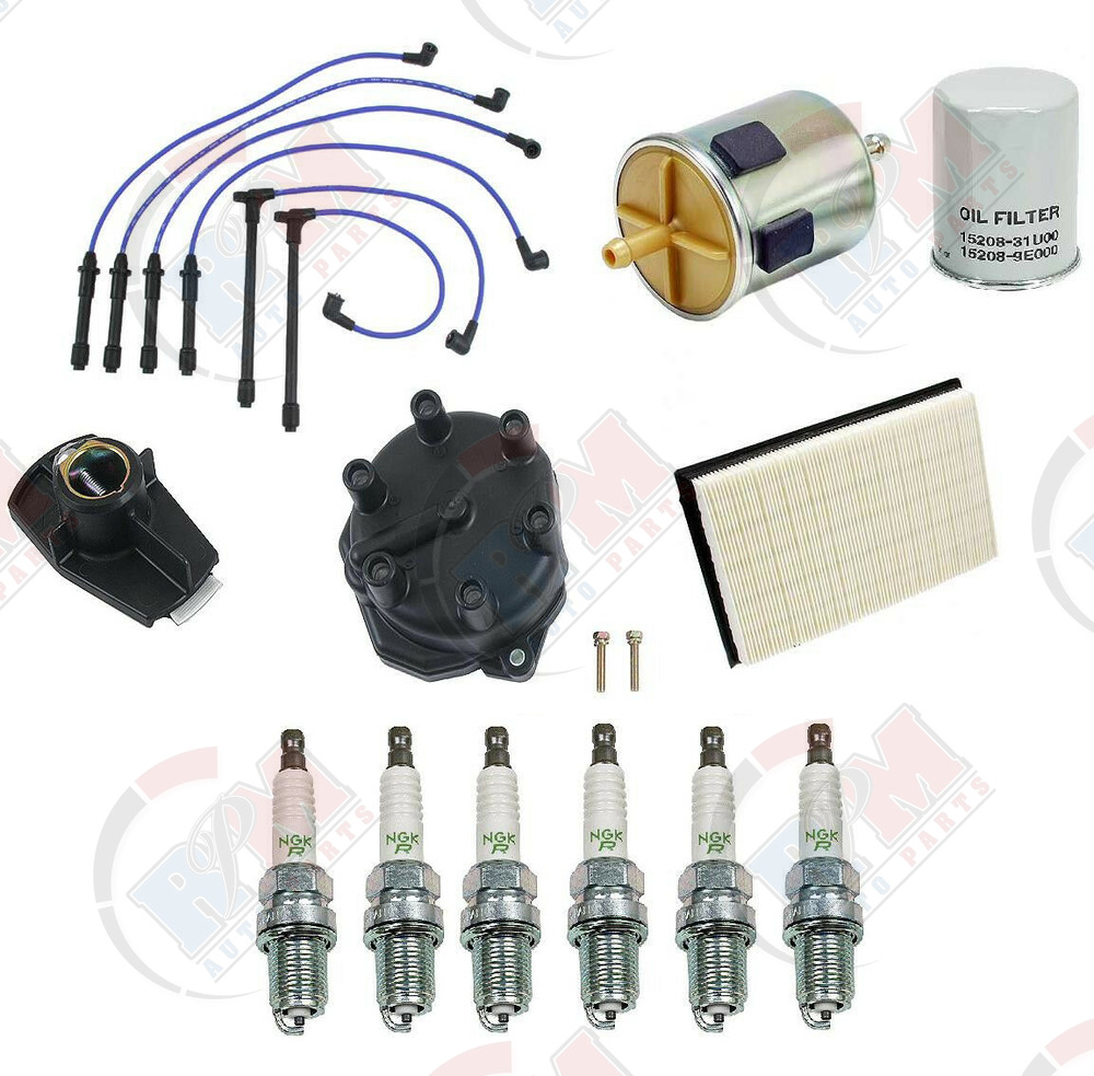 nissan quest abs wiring nissan quest distributor wiring 99-02 tune up kit wires distributor cap rotor spark plugs ...