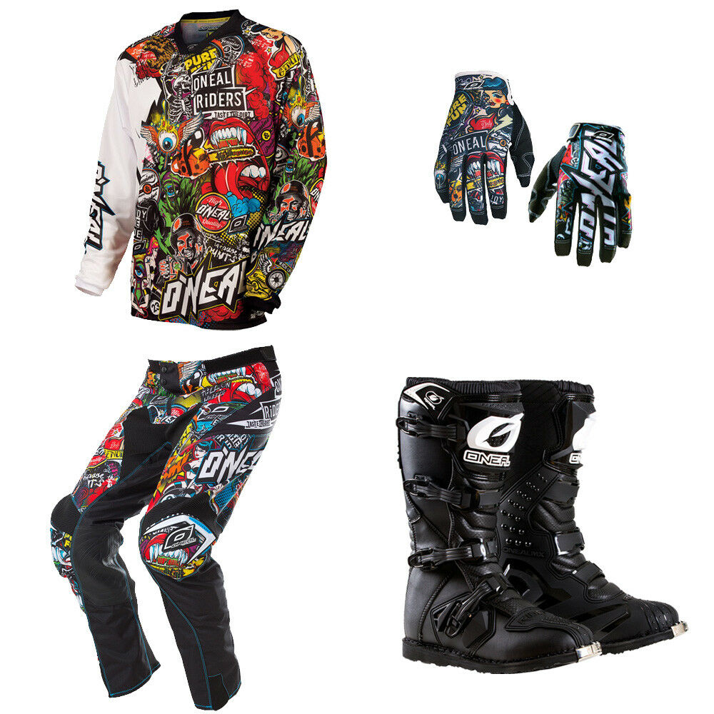 O 39 Neal Mayhem Crank Motocross Dirtbike Mx Gear Jersey