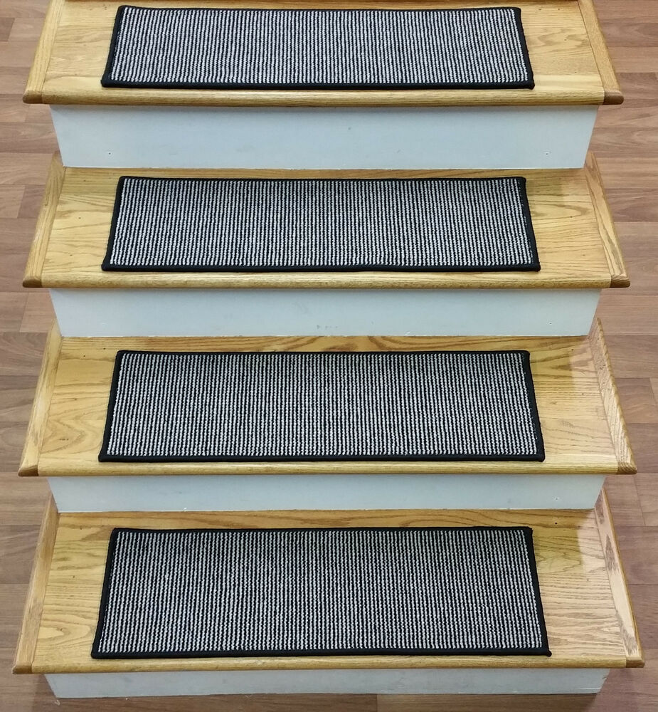Rug Depot Set Of 13 Casual Striped Carpet Stair Treads 28