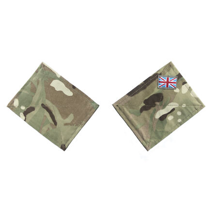 img-British Army MTP Blanking Patch Panels for UBACS Shirt Smock Jacket 1 or pair