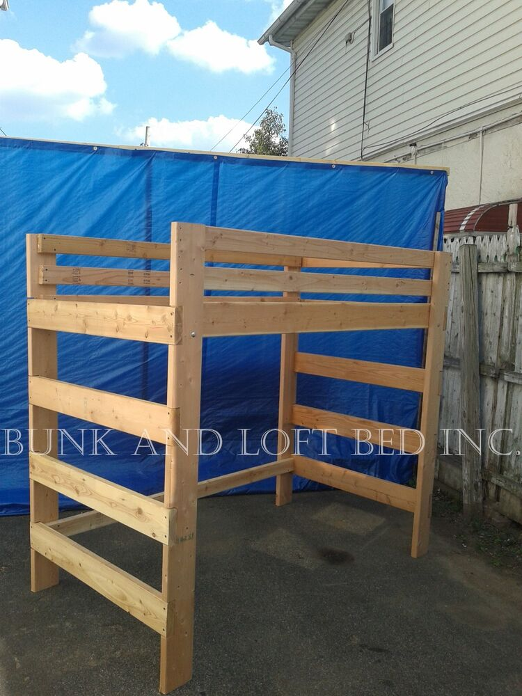 1000 Ideas About Enclosed Bed On Pinterest: EXTRA HEAVY DUTY QUEEN SIZE ADULT LOFT BED WITH 1000 LBS