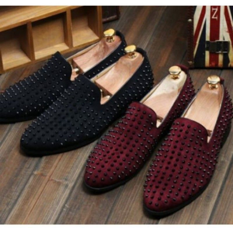Spike Slip On Shoes