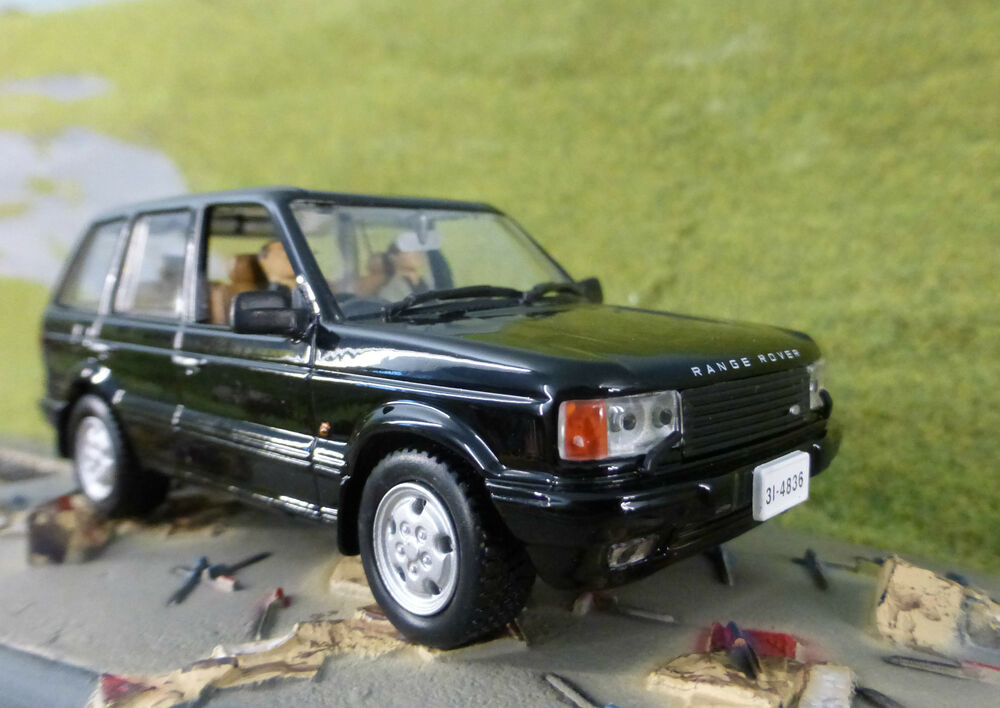 range rover p38 tomorrow never dies 1 43 scale diecast detailed model car ebay. Black Bedroom Furniture Sets. Home Design Ideas