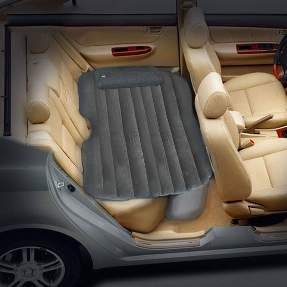 Car travel inflatable mattress back seat extended sleep - Matelas gonflable ez bed ...