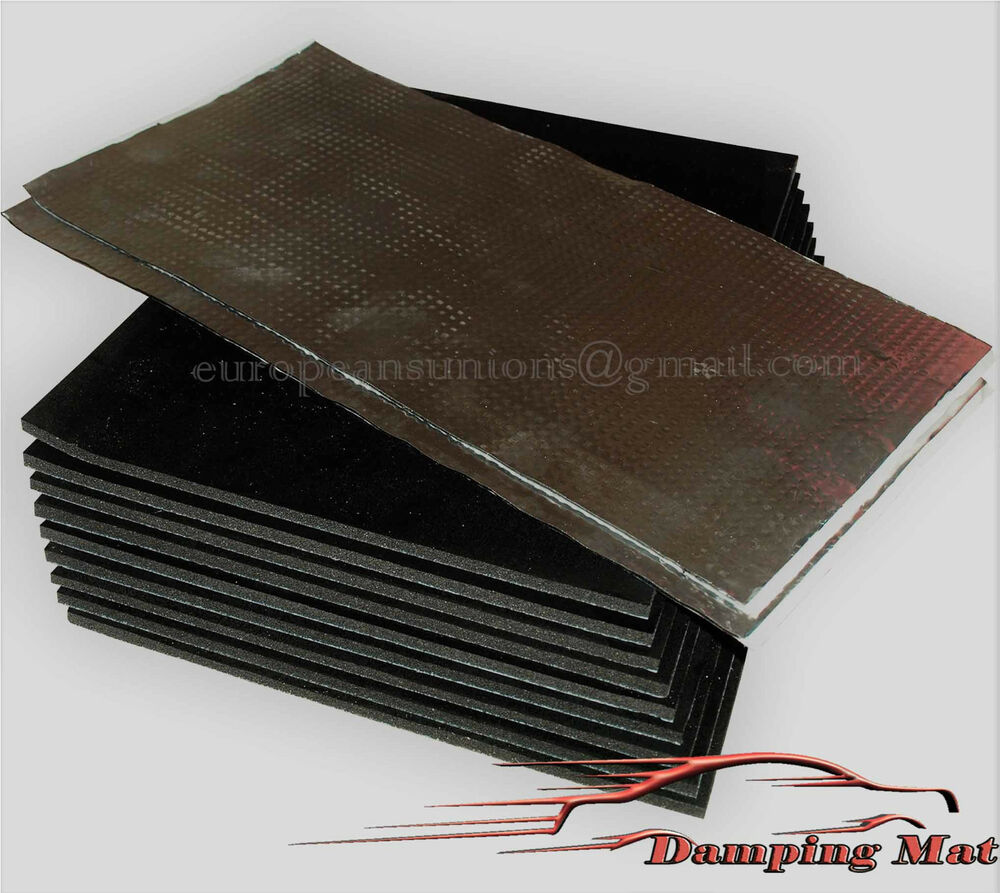 Sound Insulation Materials : M² sq ft car vehicle sound deadening material