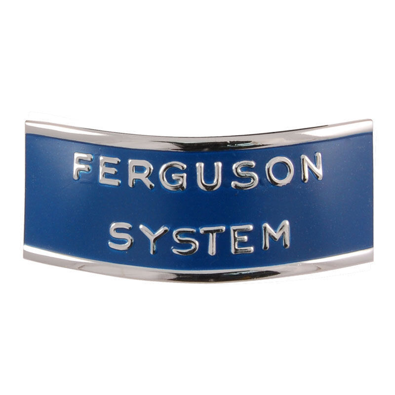 Ford Tractor Grill : Ford tractor n ferguson system grille emblem ebay