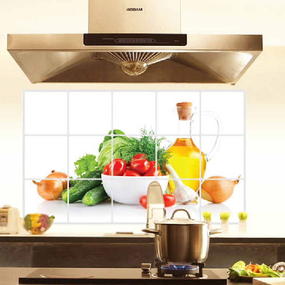 Kitchen Oilproof Removable Wall Stickers Vinyl Art Decor Home Decal Fruit Ebay