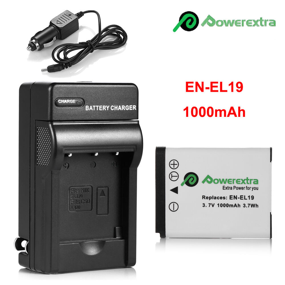 En El19 Battery Charger For Nikon Coolpix S33 S7000