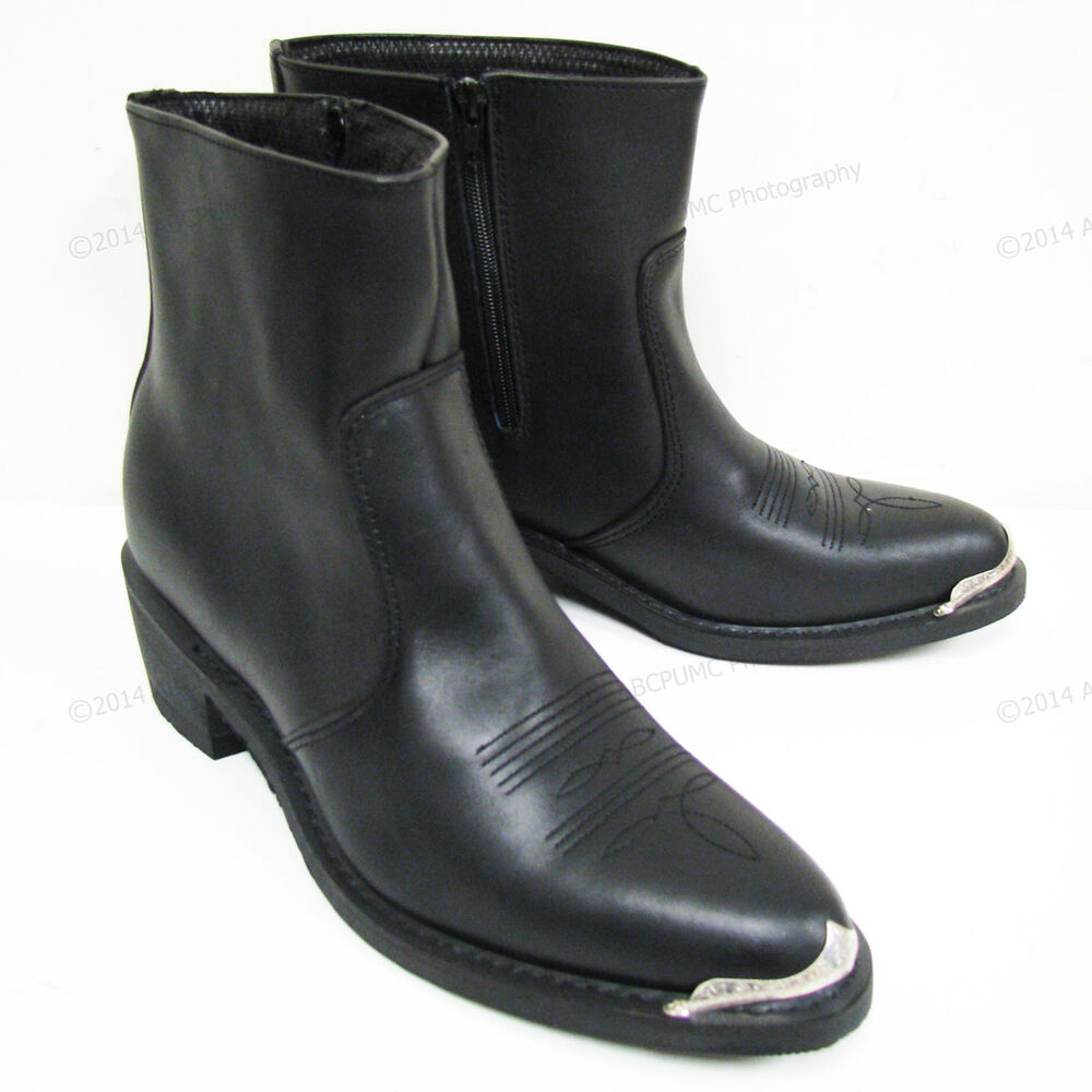 Square Toe Dress Boots For Mens Images