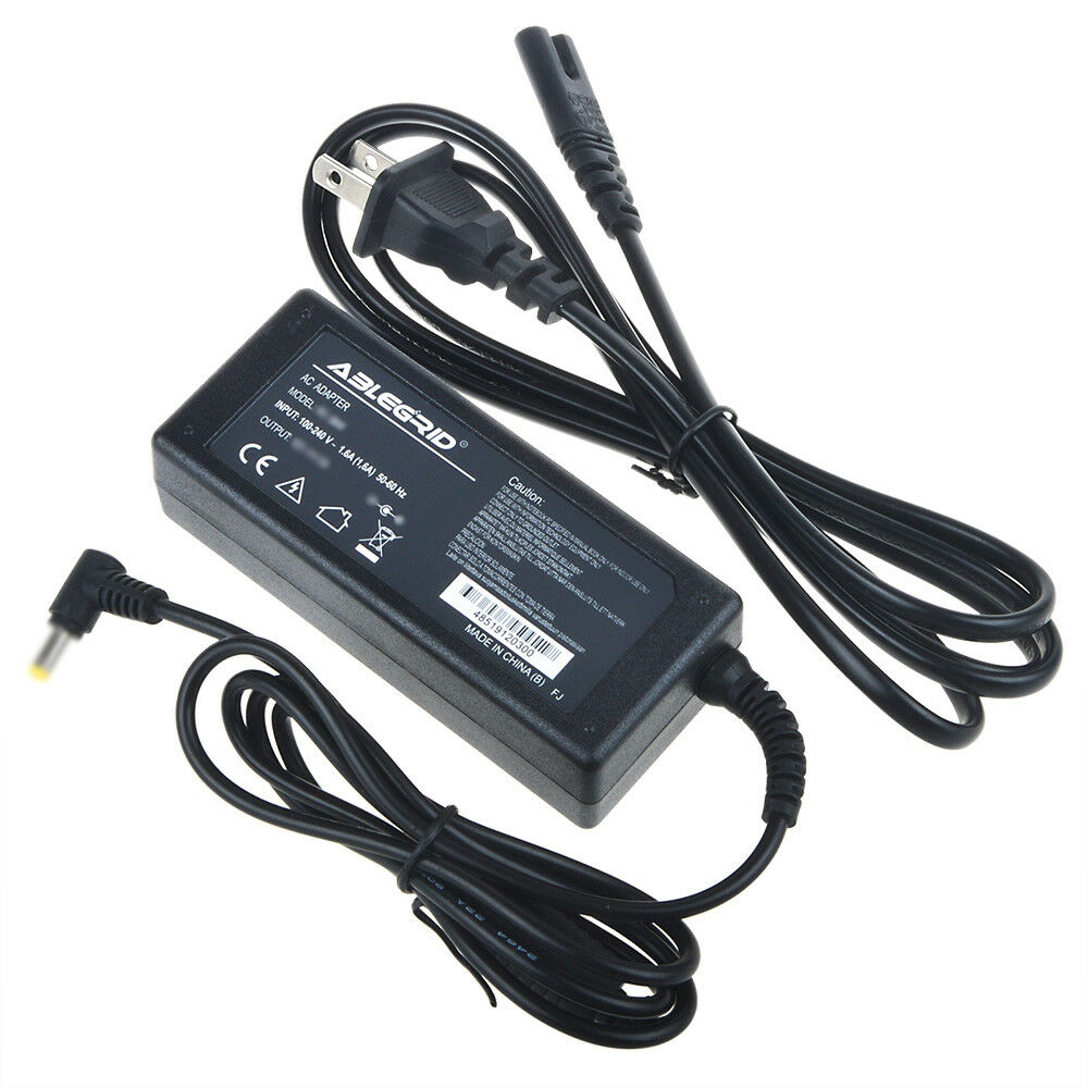 Monitor Power Cable : Ac adapter charger for samsung s b vs v lcd