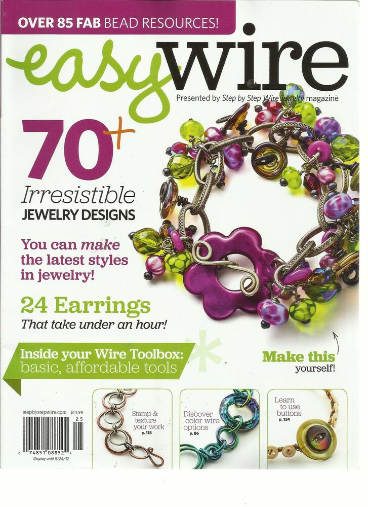 easy wire 2012 presented by step by step wire jewelry