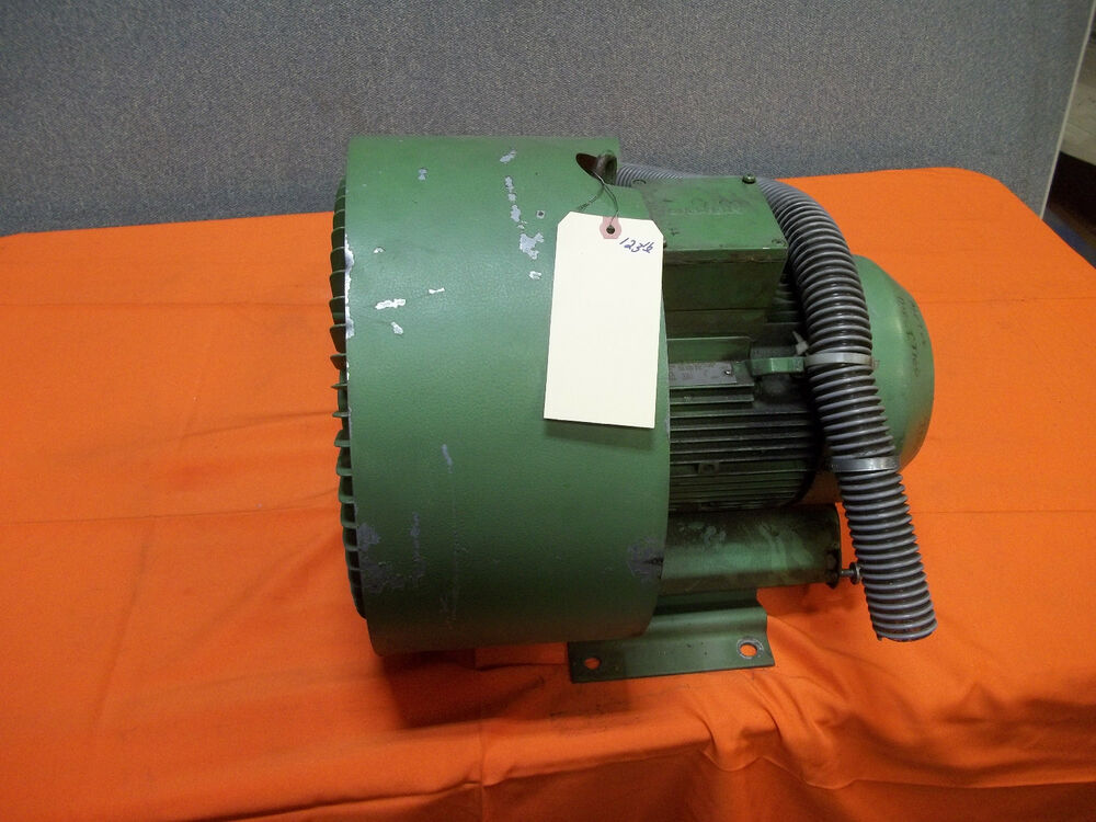 Regerative Blower W Siemens Electric Motor 3 Phase Ebay