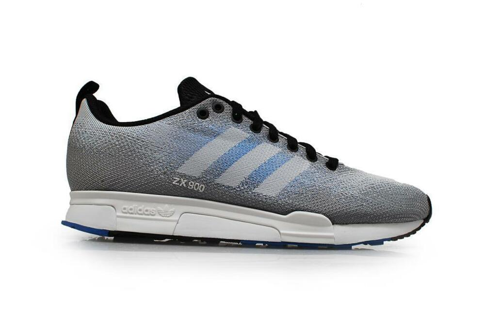 new product 65a25 dcf14 Details about Mens ADIDAS ZX 900 WEAVE Grey Blue Textile Casual Trainers  B26526 RRP £69.99
