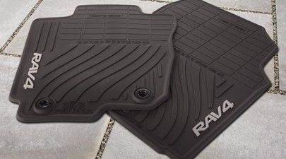2007 2012 Toyota Rav4 Oem All Weather Floor Mats Pt908