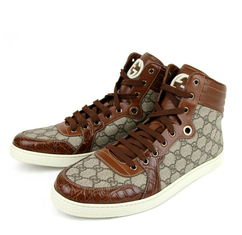 Gucci Shoes High Top White