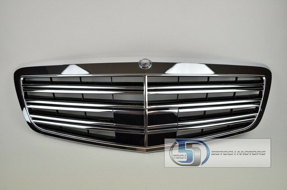 Mercedes w221 2010 2012 s class s550 s65 style grille for Mercedes benz s550 parts and accessories