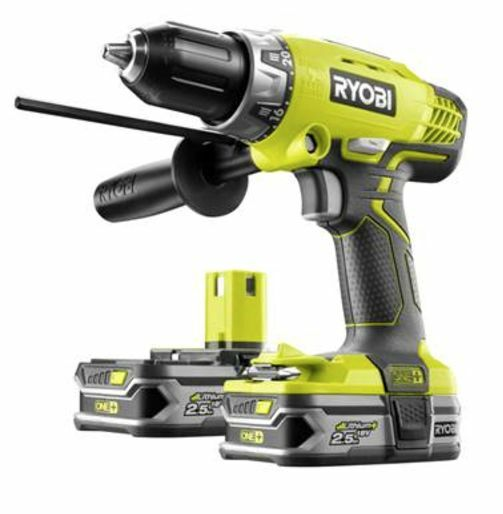 ryobi one 18v 2x2 5ah li ion batteries cordless hammer. Black Bedroom Furniture Sets. Home Design Ideas