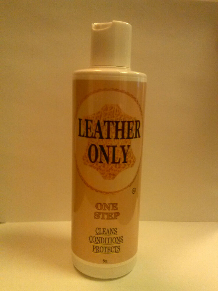 leather cleaner conditioner and protectant car automotive leather only ebay. Black Bedroom Furniture Sets. Home Design Ideas
