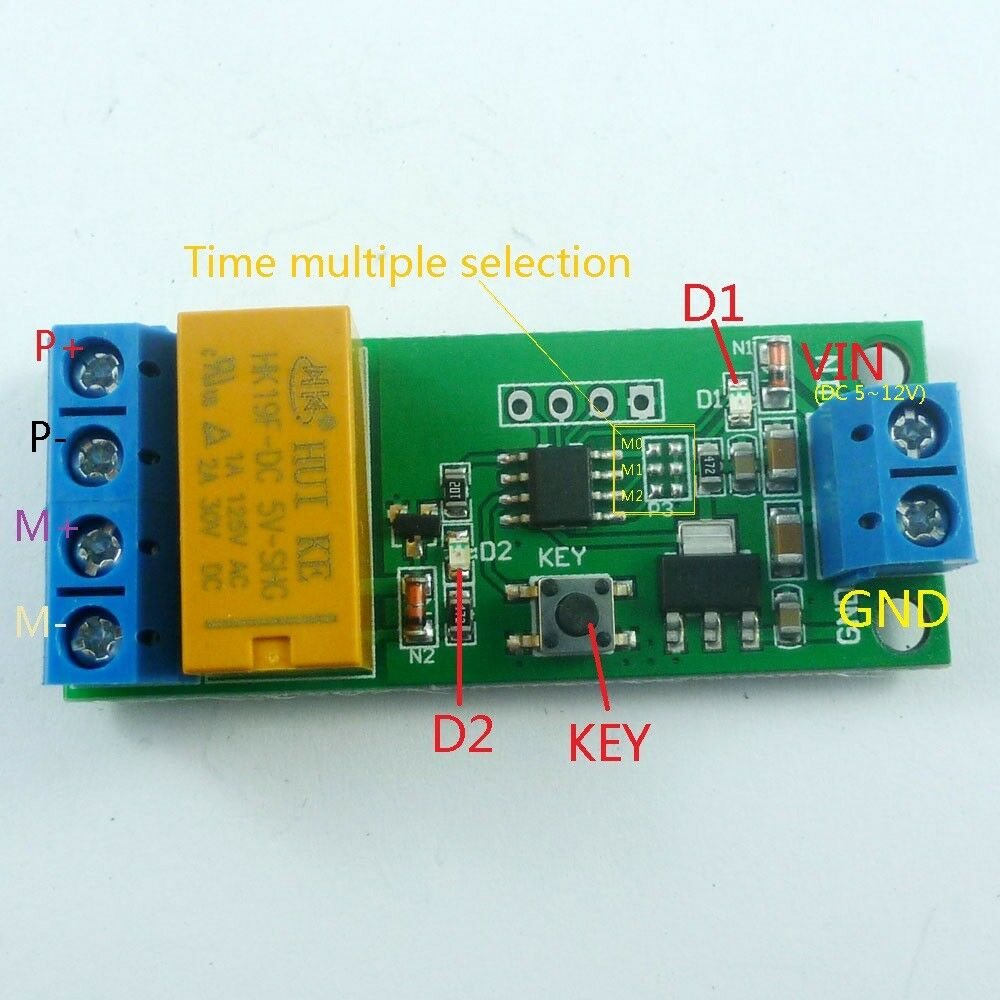 12v dc timer ebay 5v12v dc motor reverse polarity cyclic timer switch time repeater delay relay sciox Images
