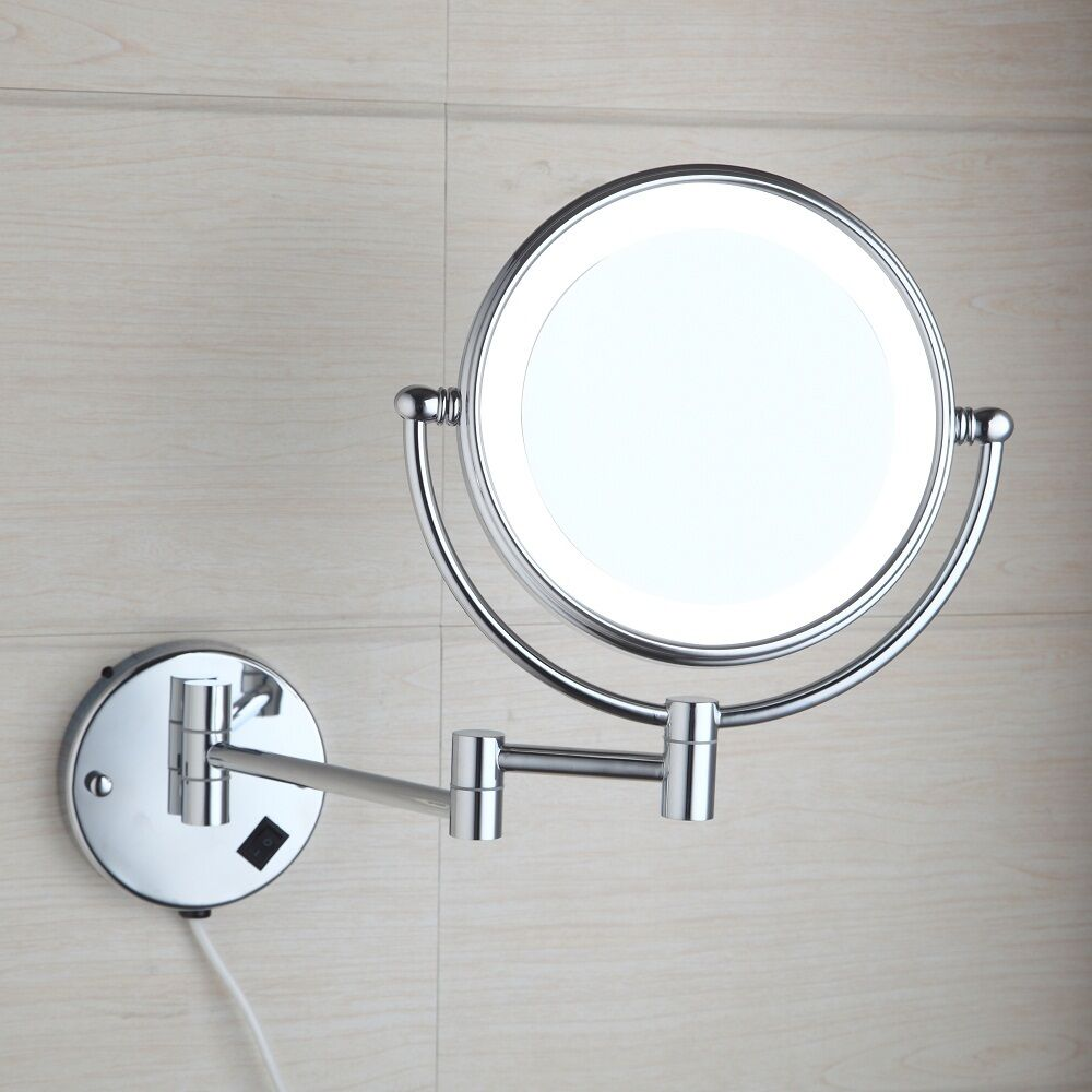 Modern Led Light 3x Magnifying Make Up Mirror Beauty