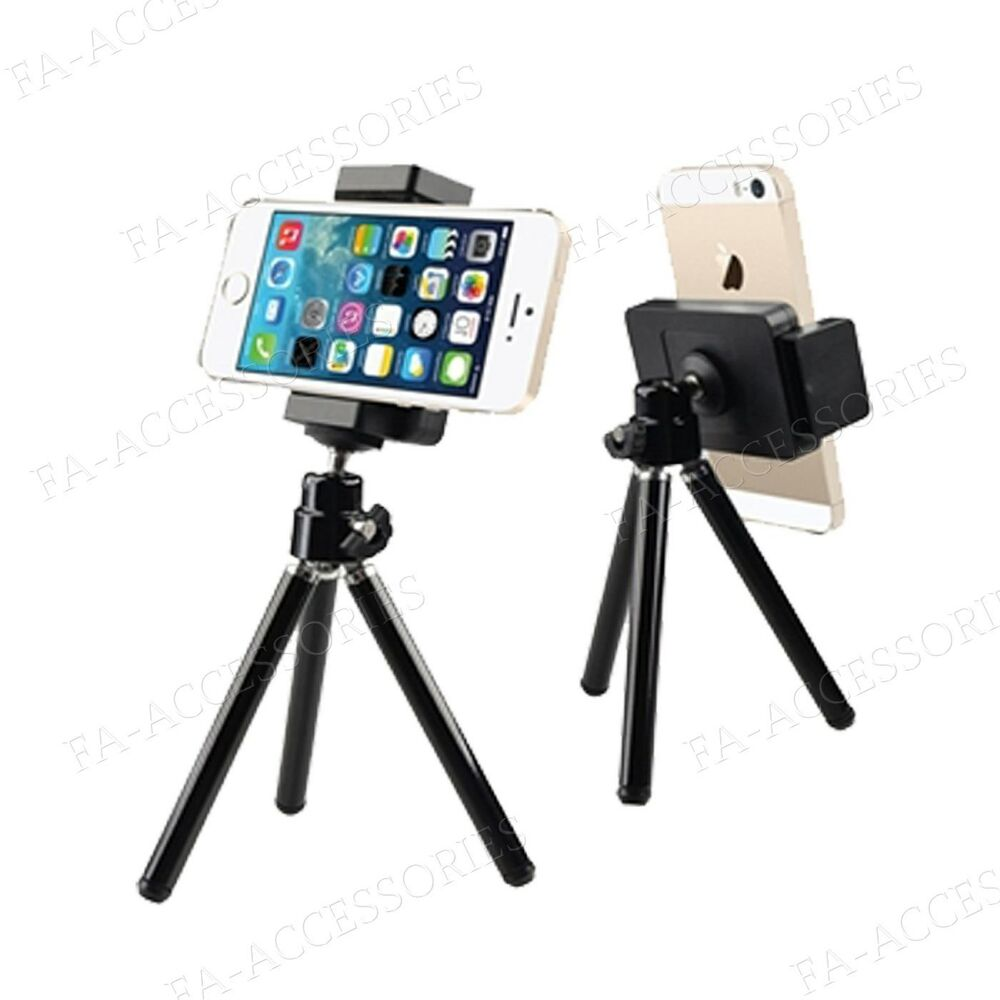iphone camera stand mini tripod stand holder mount for mobile apple 8863