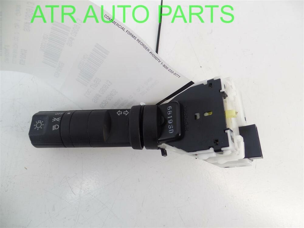 2006 2007 nissan murano headlight head light lamp turn signal column switch ebay. Black Bedroom Furniture Sets. Home Design Ideas