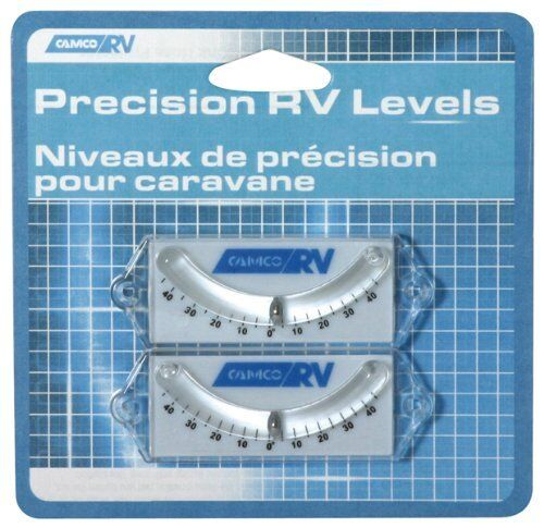 Camco Rv Precision Curved Ball Levels Camper Travel
