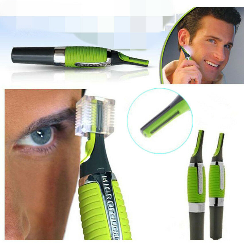 men 39 s nose ear face neck eyebrow hair mustache beard trimmer shaver clipper 1pcs ebay. Black Bedroom Furniture Sets. Home Design Ideas