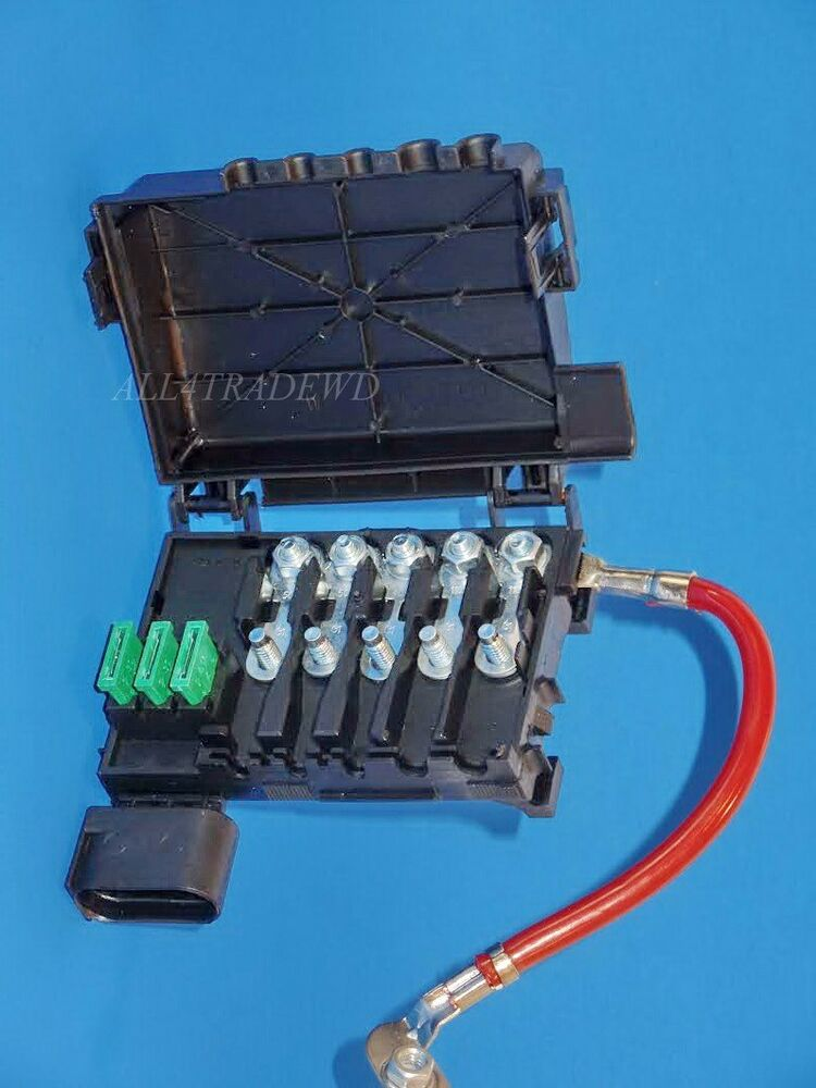 1j093 7617d new fuse box battery terminal for volkswagen. Black Bedroom Furniture Sets. Home Design Ideas